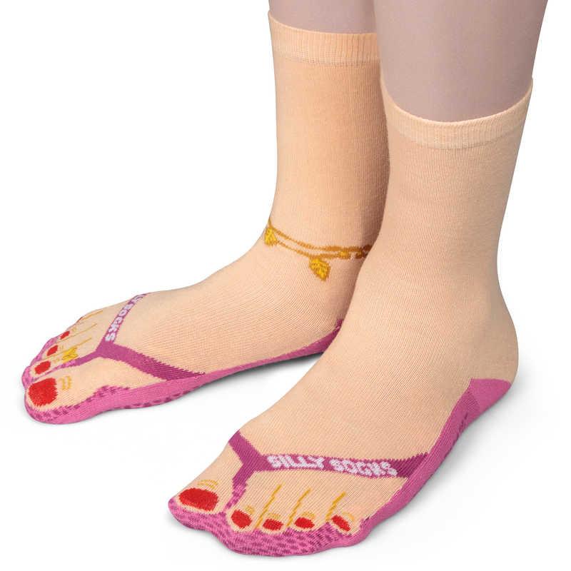 773b4caa7dbc Silly Socks - Flip Flop (Size 3-7)
