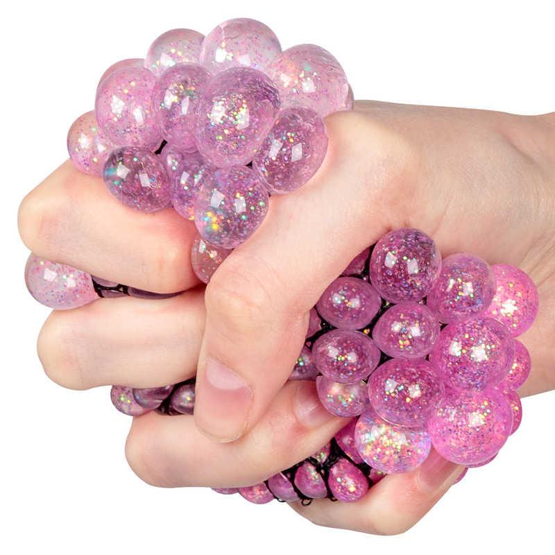 Glitter Squishy Mesh Ball